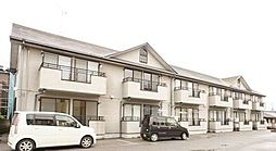 栃木県宇都宮市下川俣町の賃貸アパートの外観