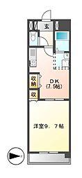 Grance Kotobuki(グランセコトブキ)[7階]の間取り