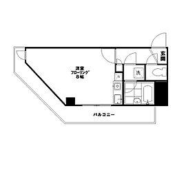 東京都板橋区板橋2の賃貸マンションの間取り