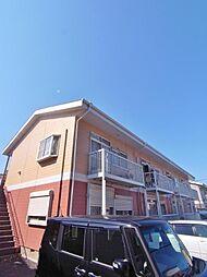 埼玉県川越市大字下新河岸の賃貸アパートの外観