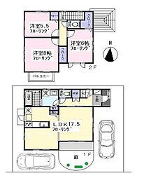 [一戸建] 東京都練馬区西大泉5丁目 の賃貸【/】の間取り