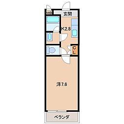 エタニティーコートI番館[2階]の間取り