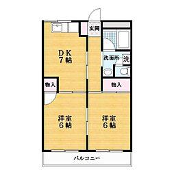 メゾン忍ヶ丘[3階]の間取り