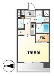 セレステーション[5階]の間取り
