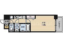 ウォークフォレスト御幸町[8階]の間取り