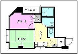 アベニューNAGAKI[502 号室号室]の間取り