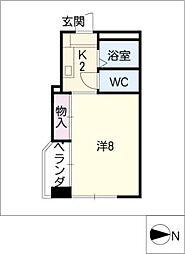 I・S court[5階]の間取り