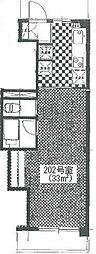 ペリエ要町[3階]の間取り