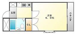 エクセレントハイツ[3階]の間取り