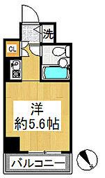 ルネ和田町[614号室]の間取り