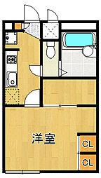レオパレスBell court[2階]の間取り
