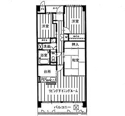 KDXレジデンス茨木II(旧:レガーロ茨木II)[0506号室]の間取り