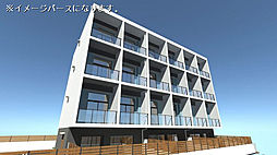 仮)南的ヶ浜JBRマンション[201号室]の外観