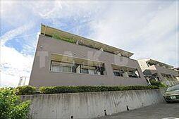 大阪府箕面市粟生間谷西7丁目の賃貸アパートの外観