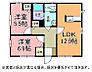 間取り,2LDK,面積51.87m2,賃料6.0万円,JR常磐線 友部駅 3.4km,,茨城県笠間市旭町346番地