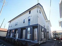 静岡県浜松市中区領家1丁目の賃貸アパートの外観
