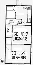 はるみ荘[1階]の間取り