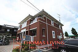 福岡県北九州市若松区二島5丁目の賃貸アパートの外観