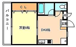 リバープラム[2階]の間取り