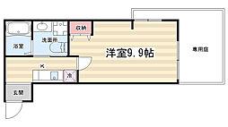 マルティ円町[1-B号室]の間取り