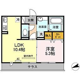 LSY 58[306号室]の間取り