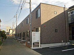 埼玉県三郷市谷口の賃貸アパートの外観