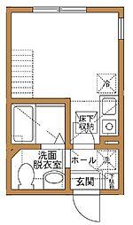 リーブルコート弘明寺[1階]の間取り