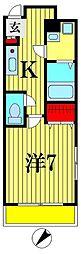 サンイング松戸[3階]の間取り