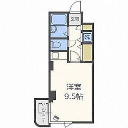 チサンマンション円山裏参道[6階]の間取り