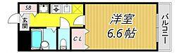レジデンス武庫之荘[2階]の間取り