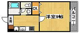 Friends24(フレンズ24)[1階]の間取り