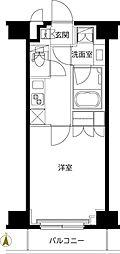 ルーブル東武練馬弐番館 1階1Kの間取り