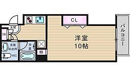 スマイリー江戸堀[3階]の間取り