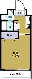 エグゼ西大阪[5階]の間取り