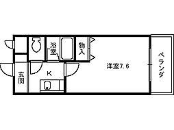 ベルデ堺東[310号室]の間取り