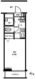 CASA White[2-B号室]の間取り