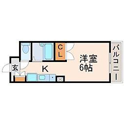 ソレイユ南武庫之荘[4階]の間取り