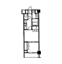 デュオステージ東十条[2階]の間取り