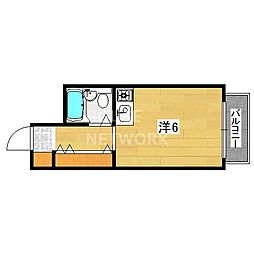 文華堂マンション[303号室号室]の間取り