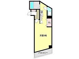 愛知県名古屋市千種区姫池通1丁目の賃貸マンションの間取り