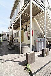 鹿児島県鹿児島市東谷山1丁目の賃貸アパートの外観