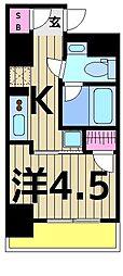 リヴシティ堀切菖蒲園[3階]の間取り