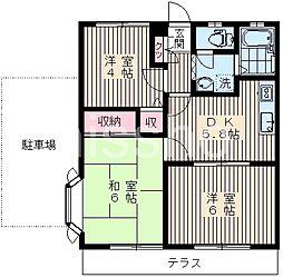 3152−ウィンディーI[1階]の間取り