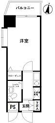 ライオンズマンション大島第2[214号室]の間取り