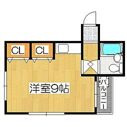 第2正美堂ビル[505号室]の間取り