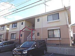山口県下関市横野町1丁目の賃貸アパートの外観
