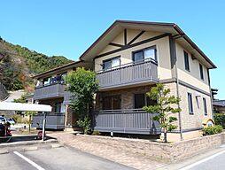 長崎県諫早市多良見町囲の賃貸アパートの外観