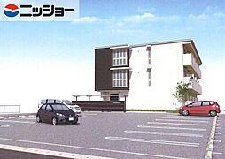 エクセルヤマナカII[1階]の外観