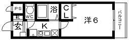Rinon恵我ノ荘(リノン恵我ノ荘)[102号室号室]の間取り