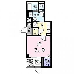 沢良宜東町マンション[1階]の間取り